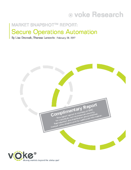 Market Report: Secure Operations Automation
