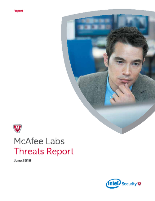 McAfee Labs Threats Report June 2016