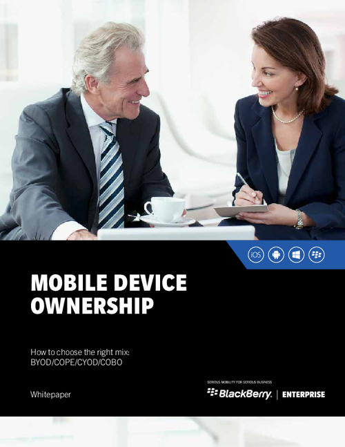 Mobile Device Ownership - How to Choose the Right Mix