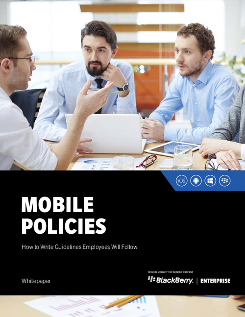 Mobile Policies - How to Write Guidelines Employees Will Follow