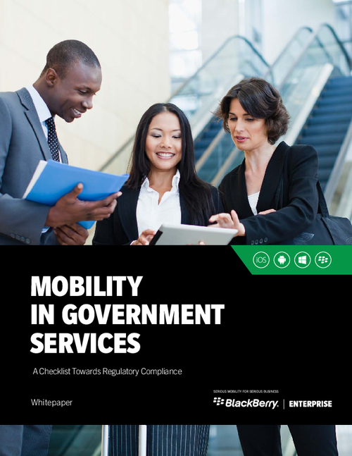 Mobility in Government Services: A Checklist for Regulatory Compliance