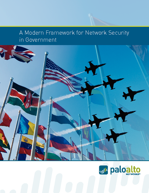 A Modern Framework for Network Security in Government