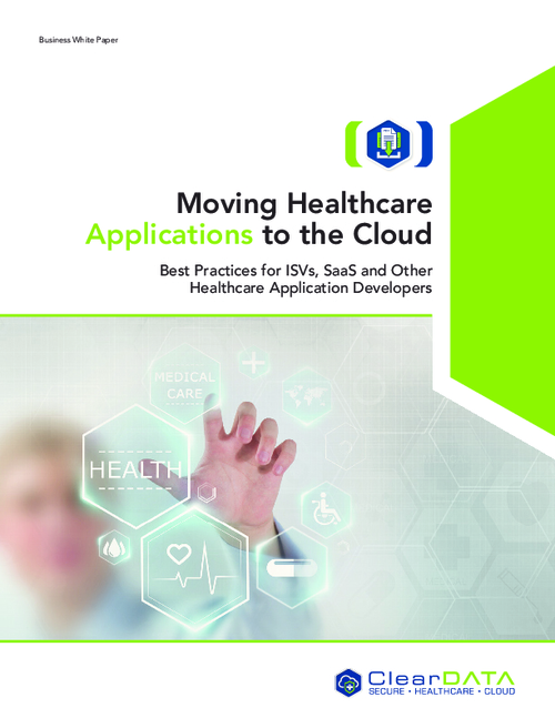 Moving Healthcare Applications to the Cloud