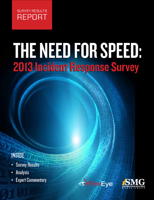 The Need for Speed: 2013 Incident Response Analysis