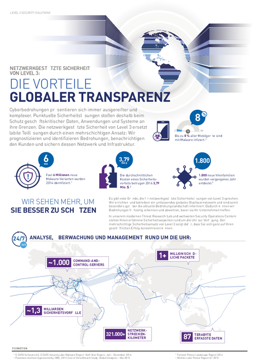 Network Based Security: The Advantages of Global Transparency (German Language)