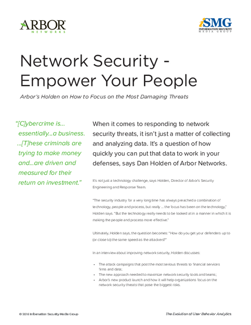 Network Security - Empower Your People