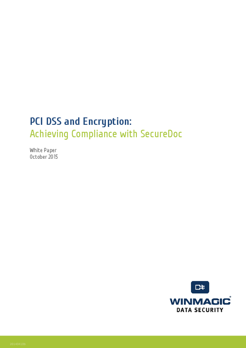 PCI DSS and Encryption: Achieving Compliance