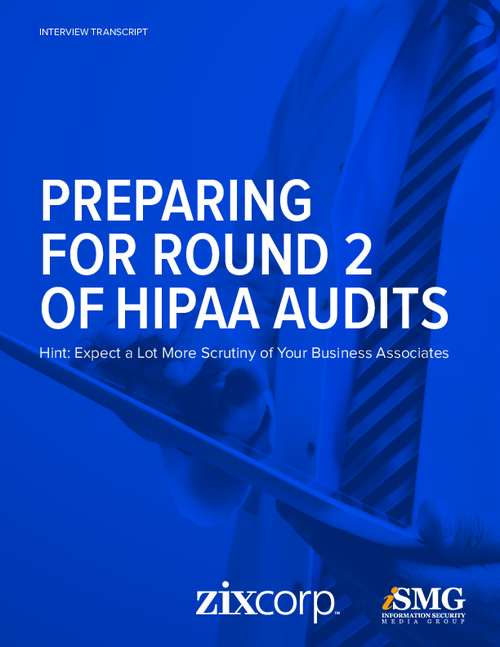 Preparing for Round 2 of HIPAA Audits