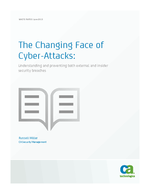 The Changing Face of Cyber-Attacks