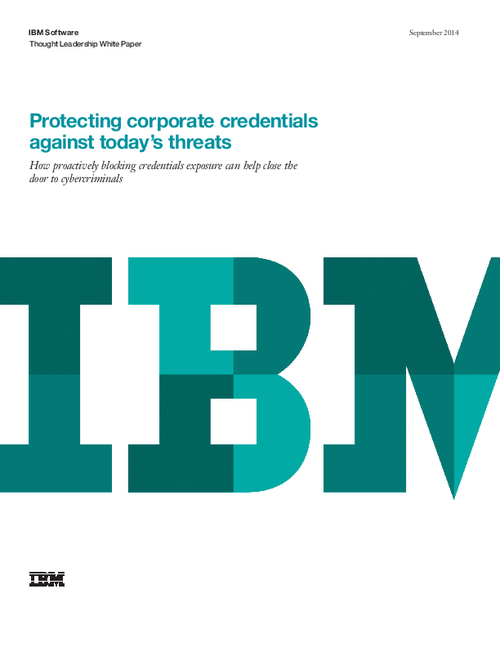 Protecting Corporate Credentials Against Today's Threats