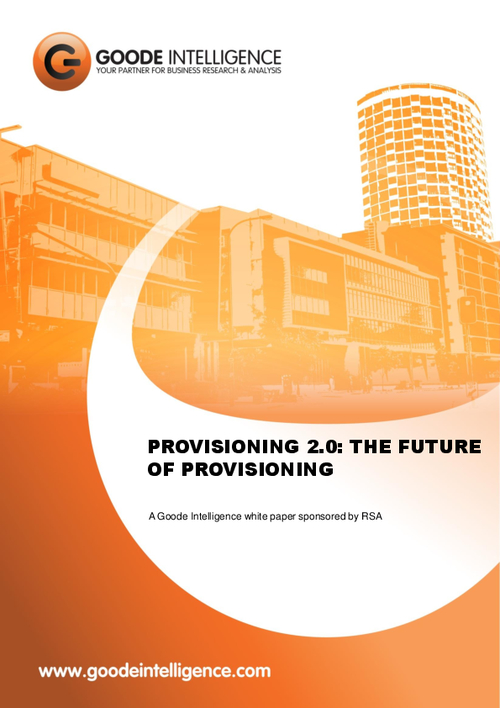 Provisioning 2.0: The Future of Provisioning