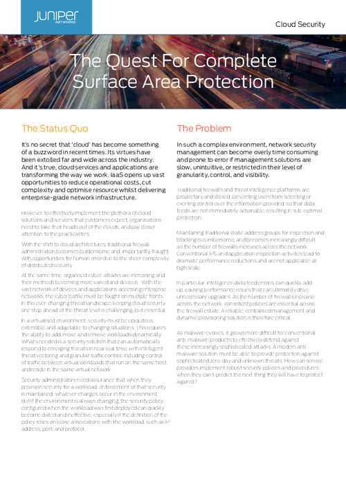 The Quest For Complete Surface Area Protection