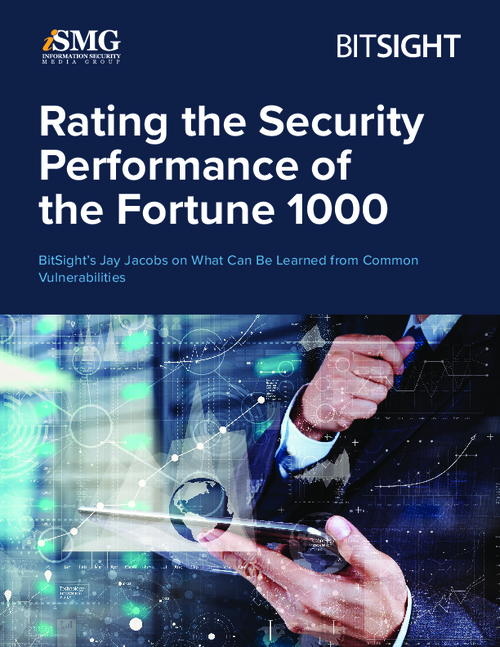 Rating the Security Performance of the Fortune 1000