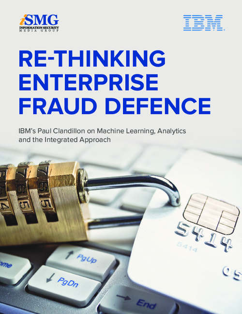 Re-Thinking Enterprise Fraud Defence