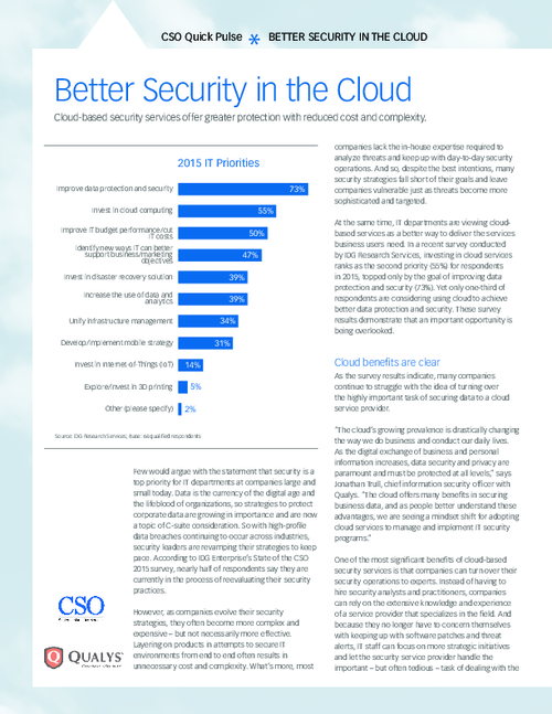 Reduce Cost and Complexity with Cloud-based Security Services