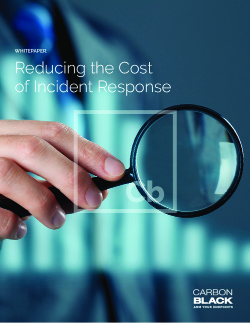 Reducing the Cost of Incident Response