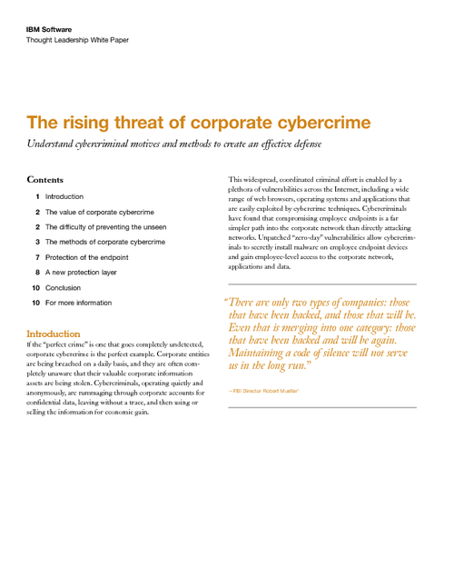 Corporate Cybercrime Trends: Employee Endpoint Exploitation