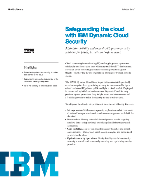 Safeguarding the Cloud