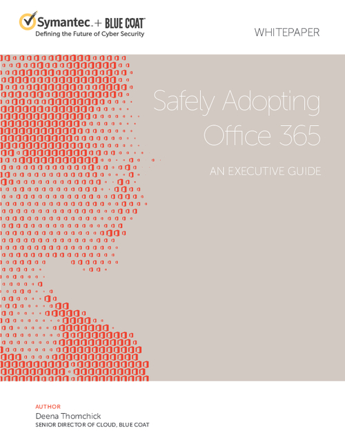 Safely Adopting Office 365
