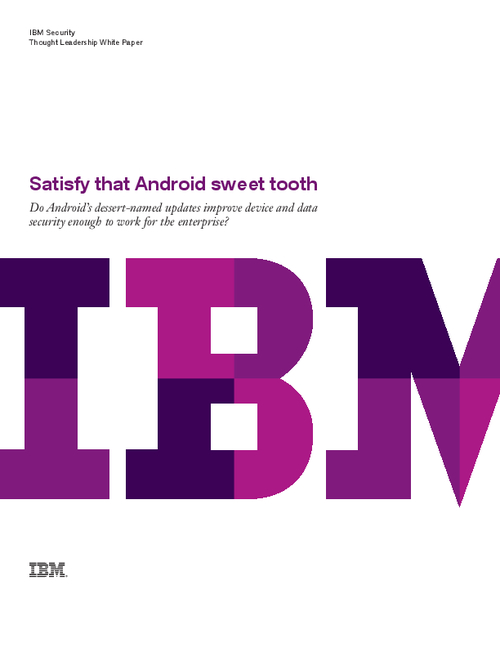Satisfy that Android Sweet Tooth