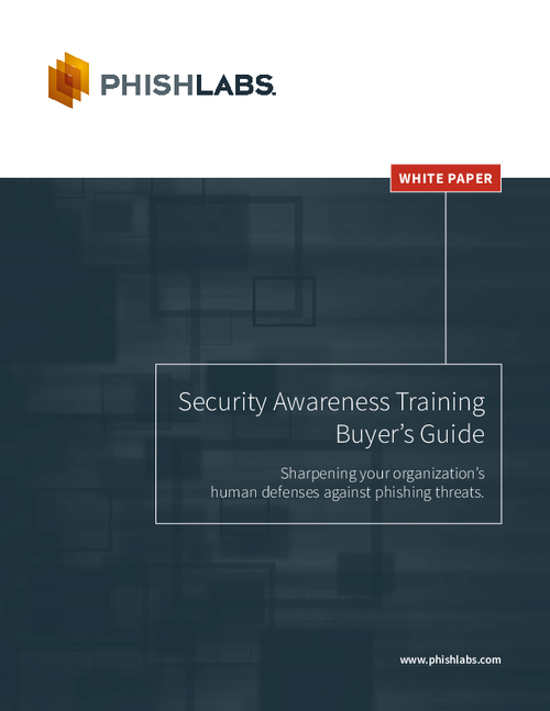 Security Awareness Training Buyer's Guide: Sharpening Human Defenses Against Phishing