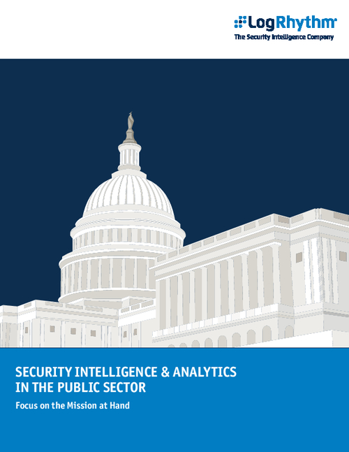 Security Intelligence and Analytics in the Public Sector
