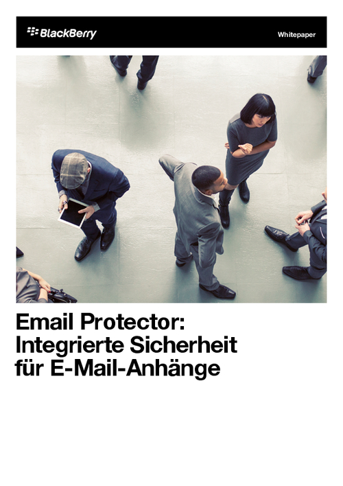 Sender's Remorse: How Safe Are Your Email Attachments?/Email Protector: Integrierte Sicherheit für E-Mail-Anhänge