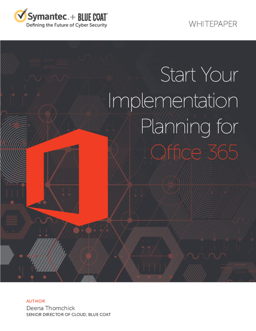 Start Your Implementation Planning for Office 365