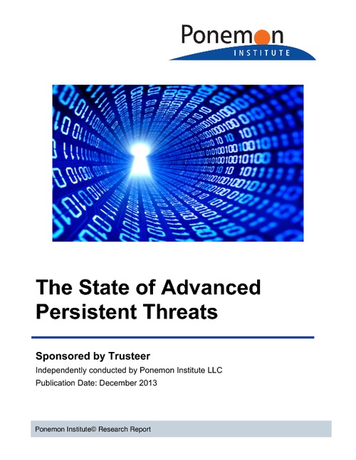 The State of Advanced Persistent Threats