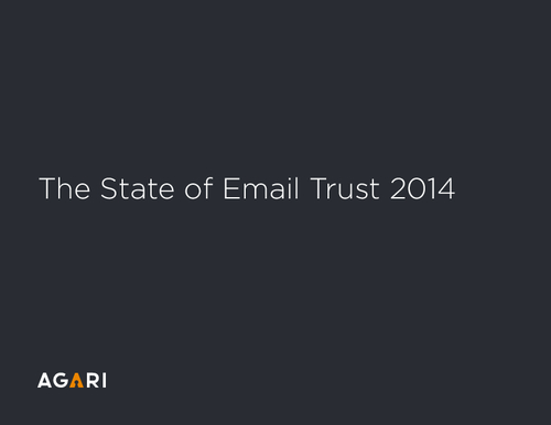 The State of Email Trust, 2014