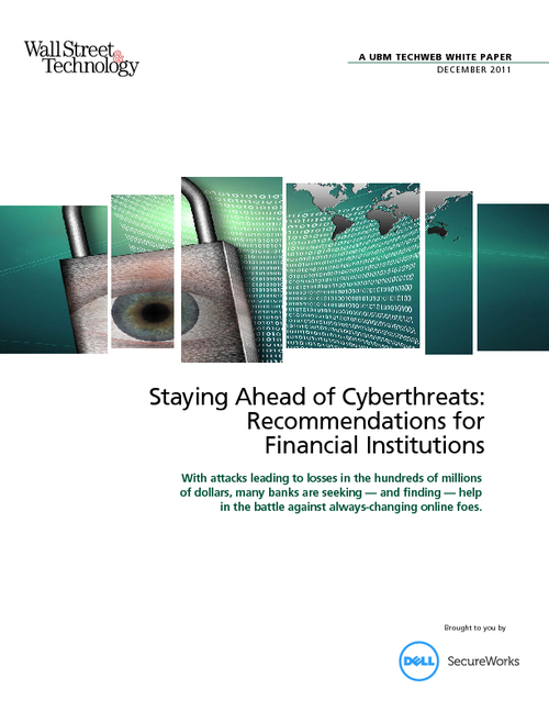 Staying Ahead of Cyberthreats: Recommendations for Financial Institutions