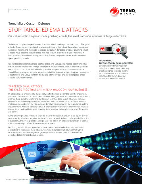 Stop Targeted Email Attacks
