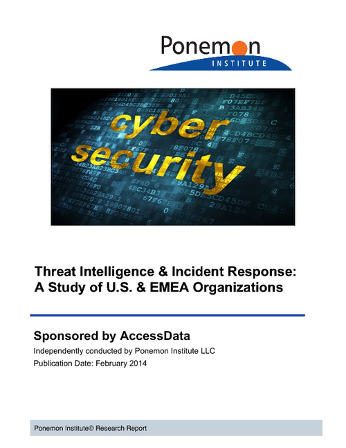 Threat Intelligence and Incident Response:  A Study of U.S. and EMEA Organizations