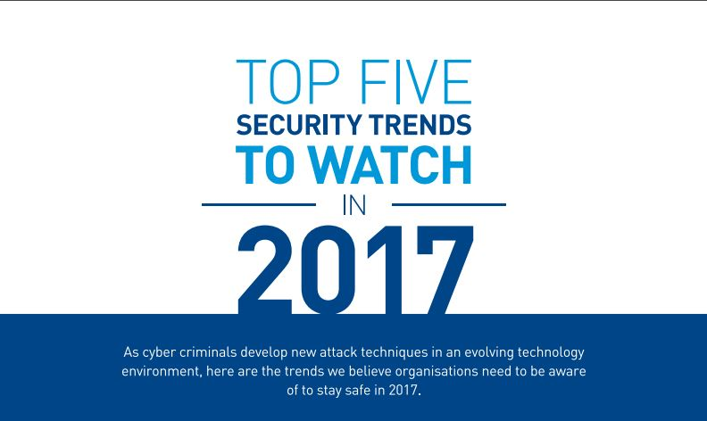 Top 5 Security Trends in 2017