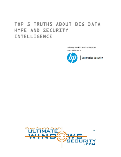 Top 5 Truths About Big Data Hype