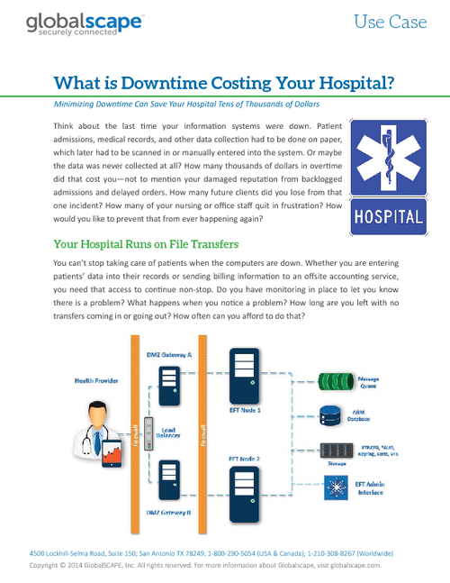 What is Downtime Costing Your Hospital?