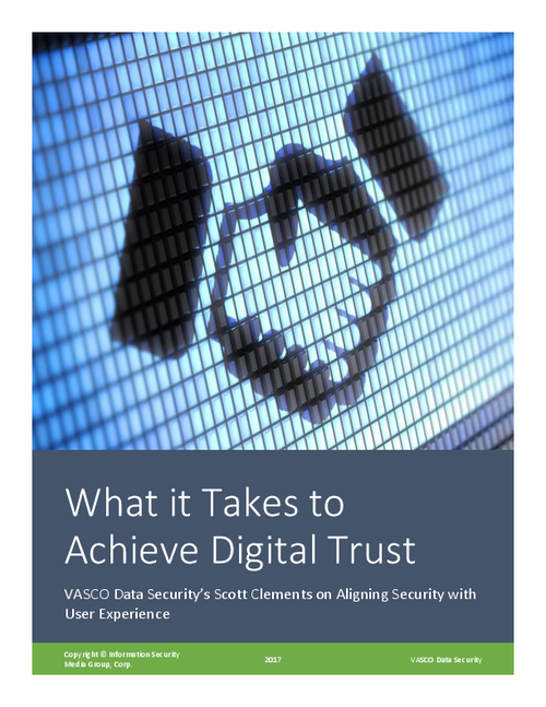 What It Takes to Achieve Digital Trust
