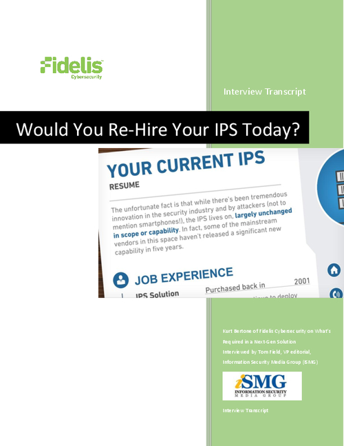 What's Required in Your Next Generation IPS Solution?