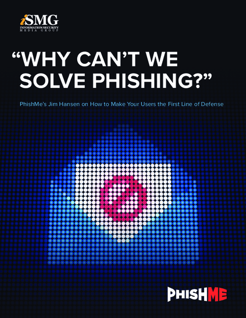 """Why Can't We Solve Phishing?"""